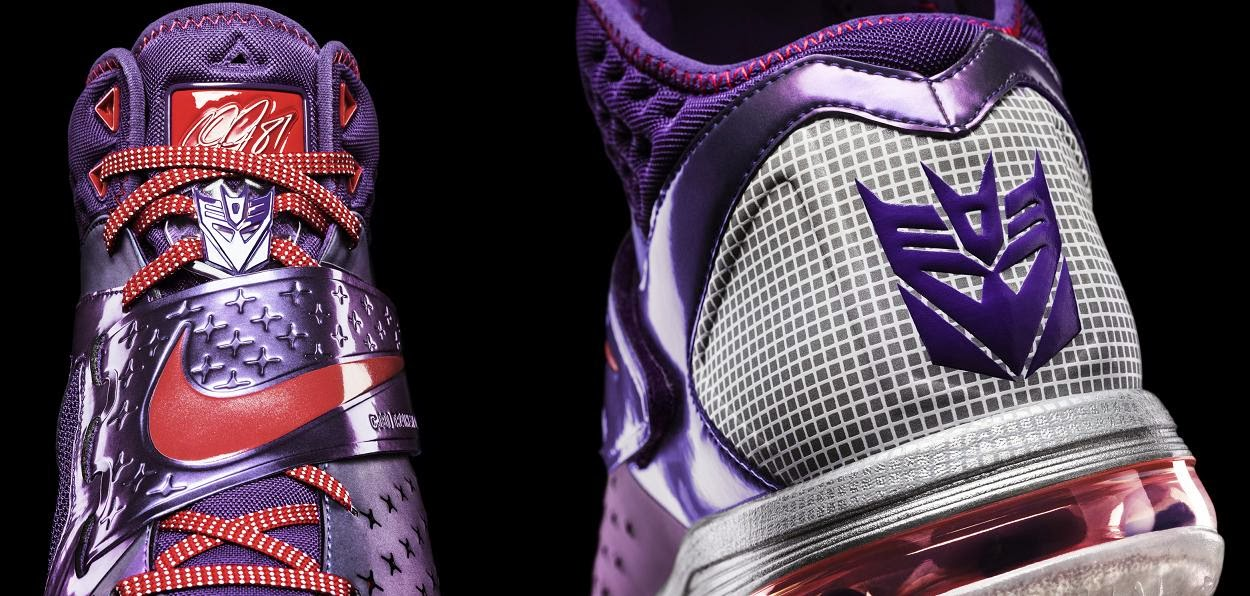 "Nike x Habro Calvin Johnson ""Megatron"" Transformers Sneakers"