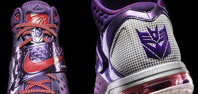 "Nike x Habro Calvin Johnson ""Megatron"" Transformers Sneakers"