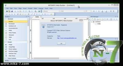 WYSIWYG Web Builder 8.5.7b Full Version
