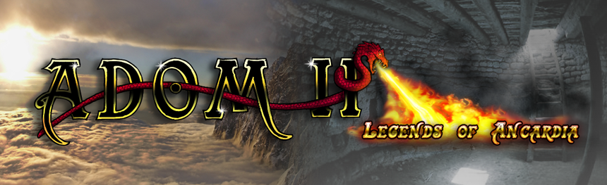 ADOM II: Legends of Ancardia (powered by JADE)