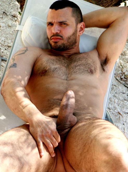 Homens Nus Na Praia