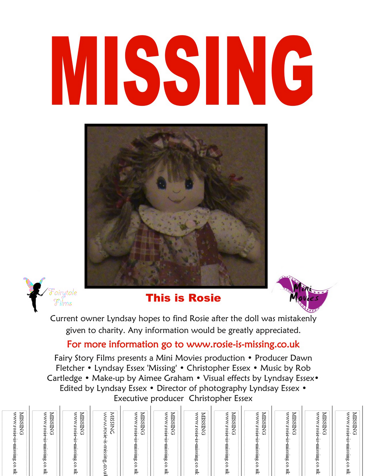lyndsayoutloud u0026 39 s a2 media   u0026 39 missing u0026 39  poster ideas