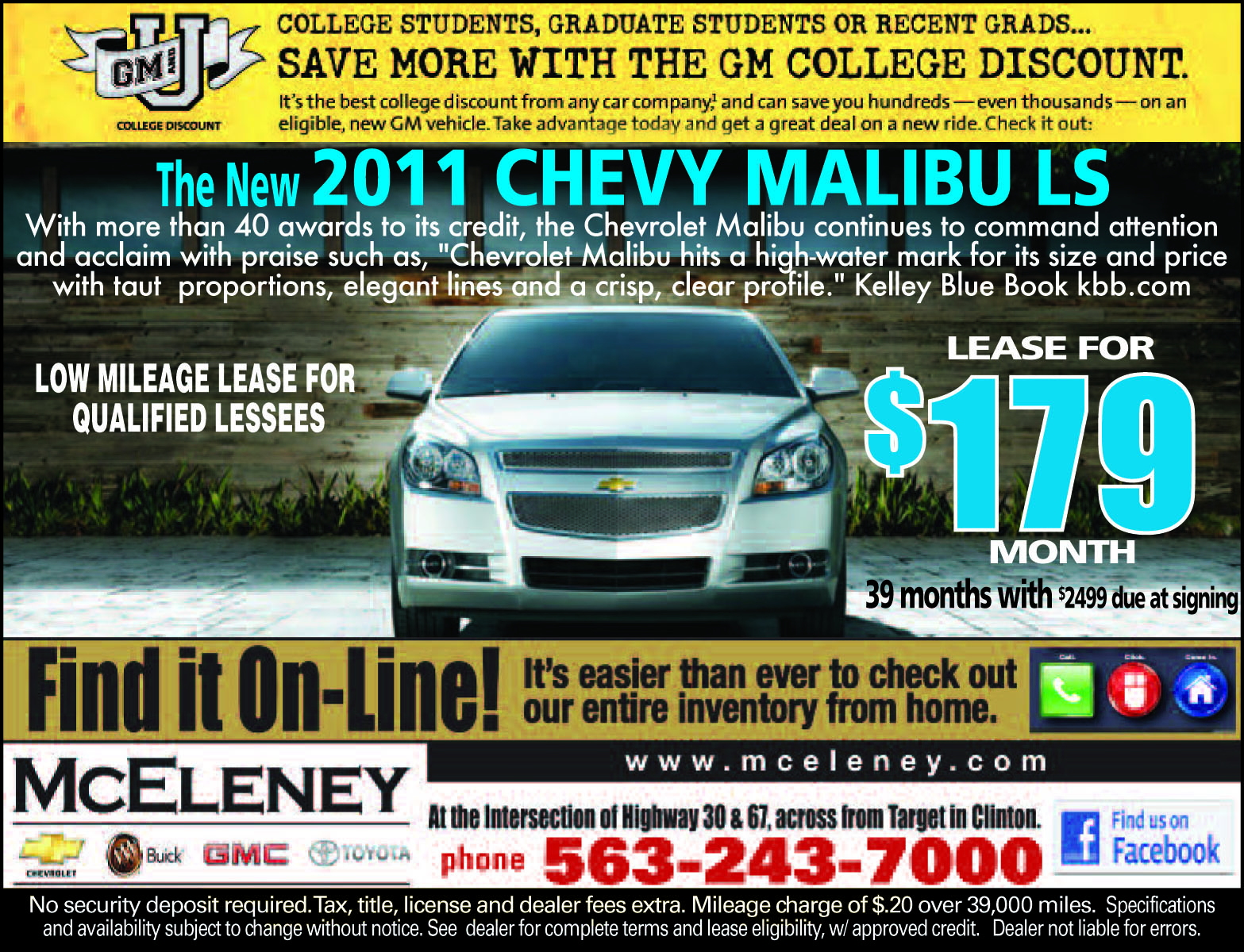 Mceleney Chevrolet Buick Gmc Toyota Check Out The New