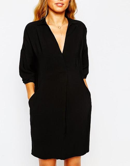 black whistles shirt dress, whistles lola dress,