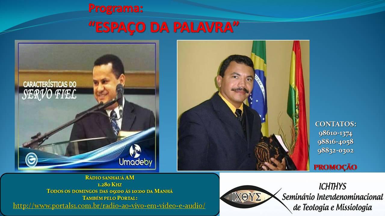 PROGRAMA ESPAÇO DA PALAVRA
