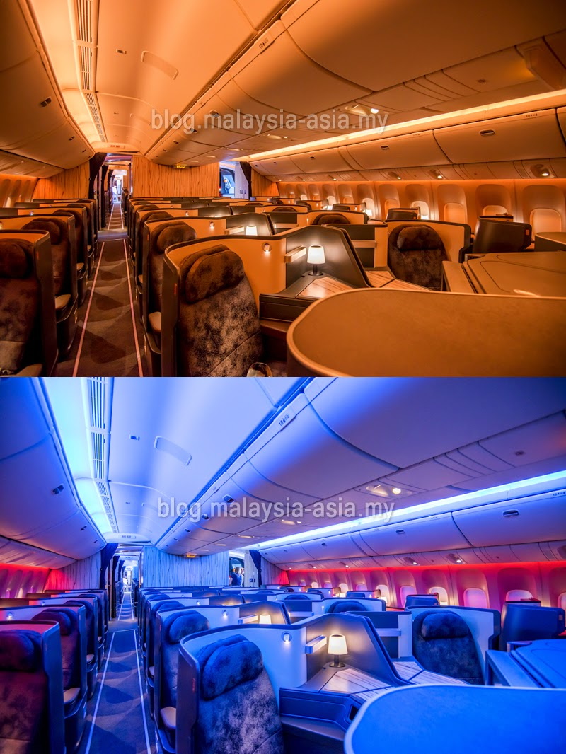 China Airlines Business Class 777