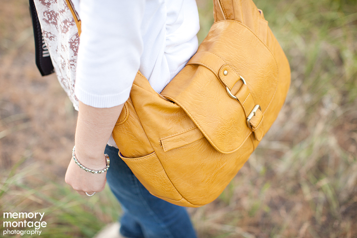 Kelly Moore Mustard B-Hobo Camera Bag.