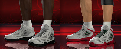 NBA 2K13 PEAK Team Lightning Shoes Patch