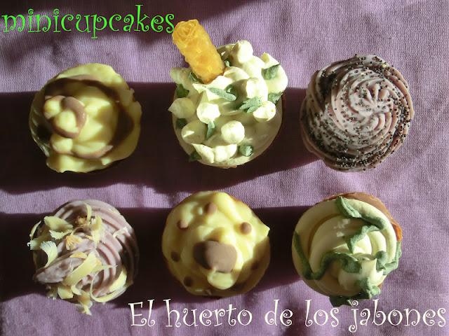 Cupcakes jabonosos