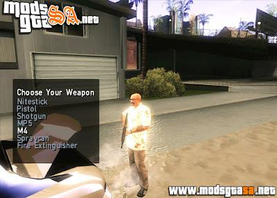SA - Mod Armas no Porta Malas V2.0
