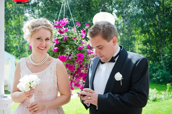 Eclectic Backyard Finnish Wedding | Actual Day Photography | Lovebird Productions Blog