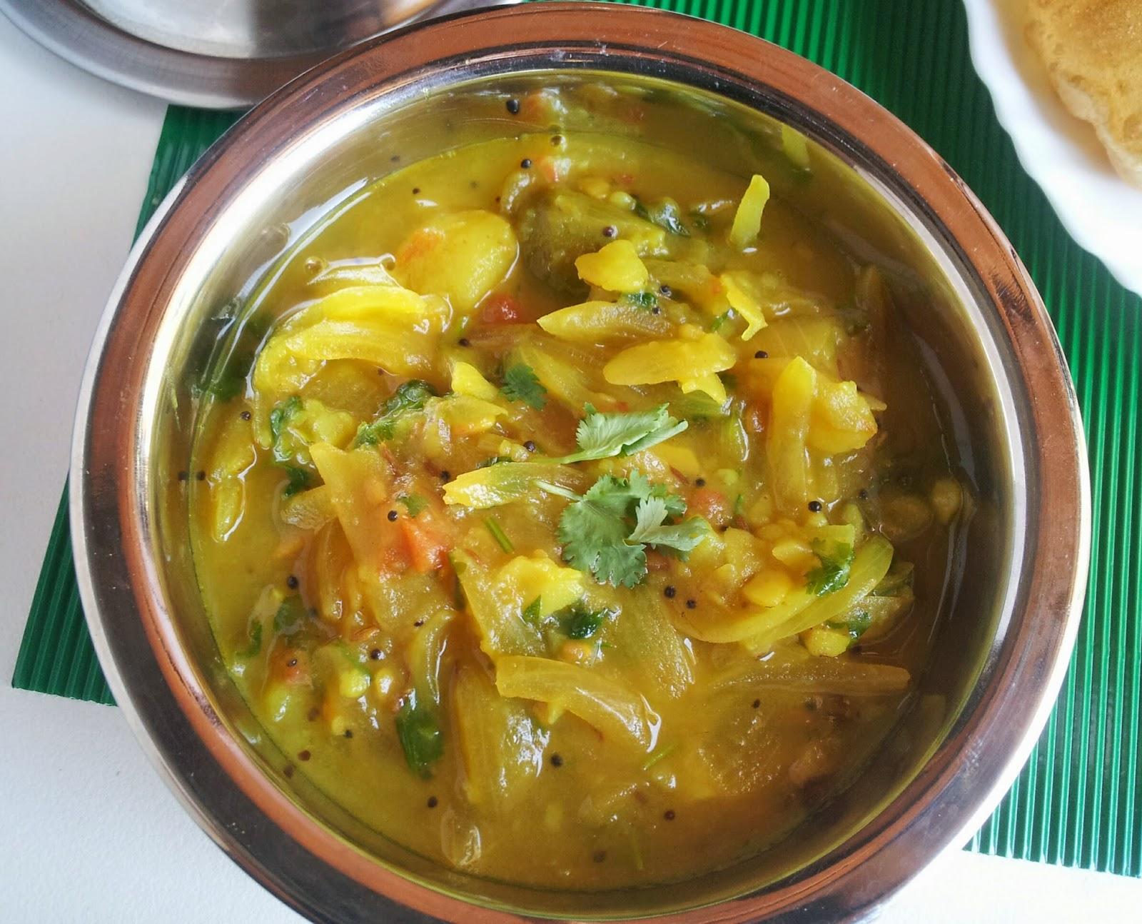 poori masala (potato masala)
