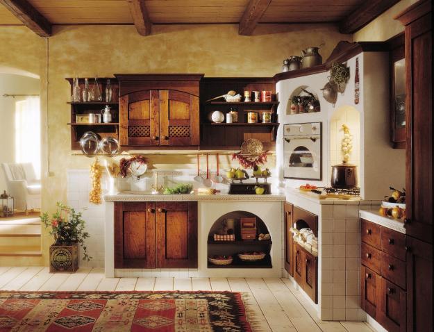 My world la cucina che vorrei - Immagini di cucine in muratura ...