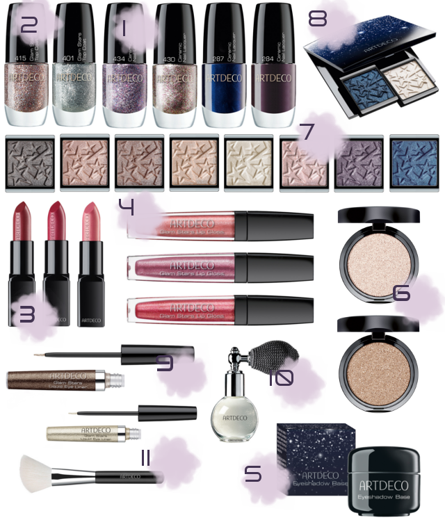 Preview Artdeco Glam, Moon & Stars - limited Edition (LE) - Oktober 2014