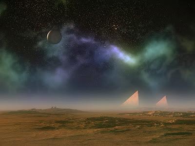 ></a><br>Más de una vez me he soñado en alguno de esos <b>mágicos paisajes</b> donde se pueden ver al mismo tiempo dos o tres <b>planetas casi rozando la tierra</b>. Hasta donde se, eso hoy en día es imposible. Sin embargo, la magia de los <b>programas de edición digital como Photoshop</b>, nos permiten dar rienda suelta a nuestra <b>creatividad</b> diseñando <b>los mejores escenarios fantásticos</b>. Para darle una idea más clara, comparto con usted el día de hoy <b>21 trabajos artísticos</b> que seguramente le dejarán un aluvión de preguntas sobre la posible existencia de estos parajes increíbles más allá de nuestra galaxia. <br><a href=