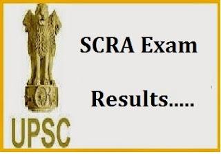 SCRA-SCRA-2016-UPSC-Result-2016-Result: