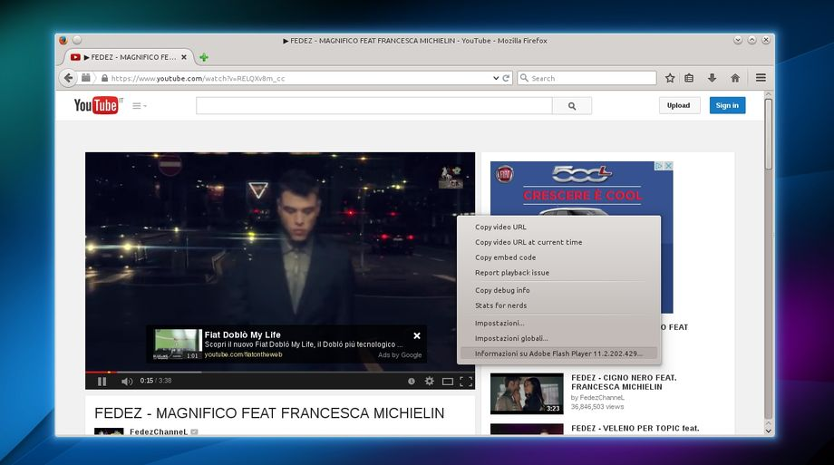 Flash Player in Firefox su Kubuntu