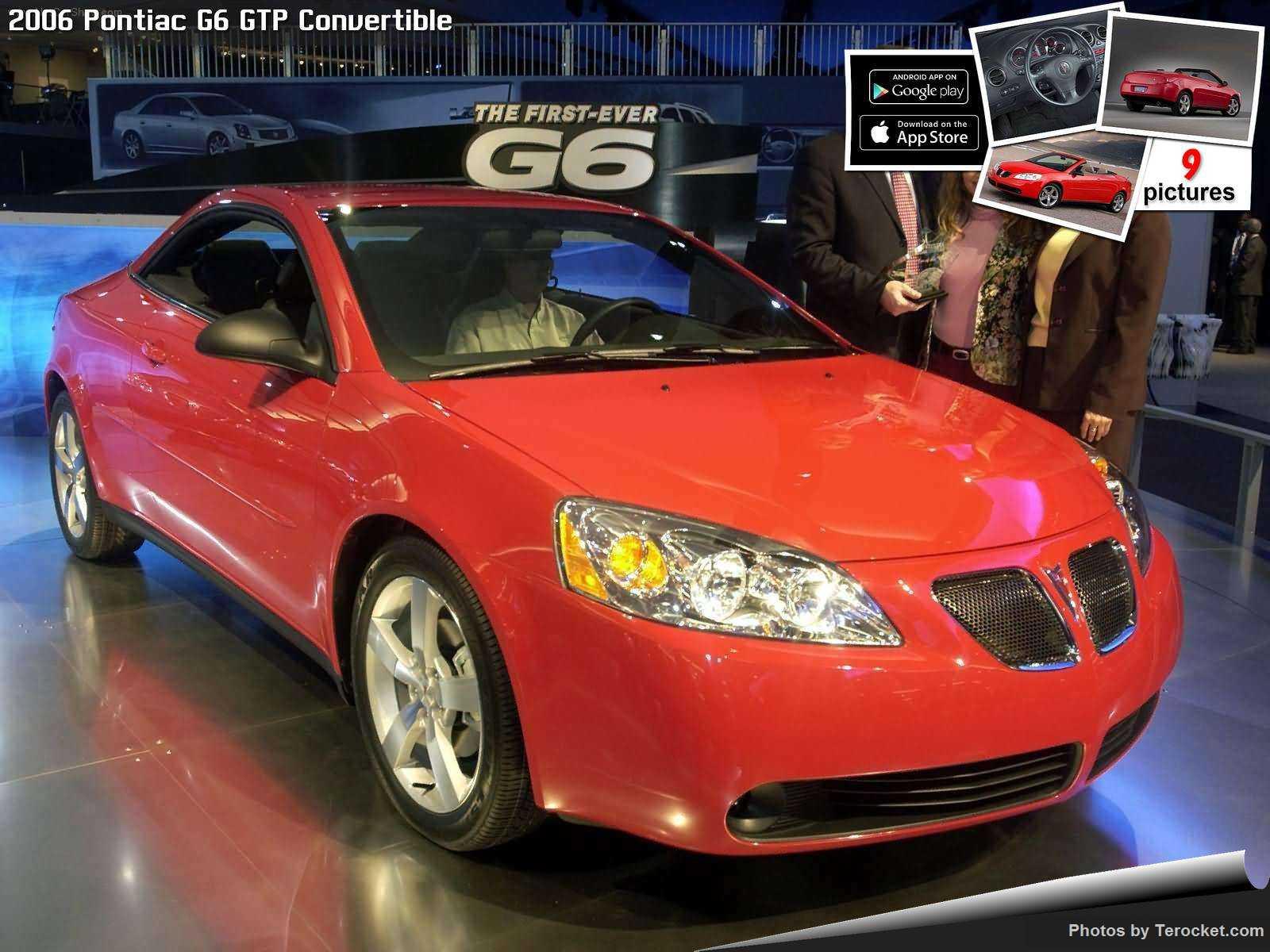 Hình ảnh xe ô tô Pontiac G6 GTP Convertible 2006 & nội ngoại thất