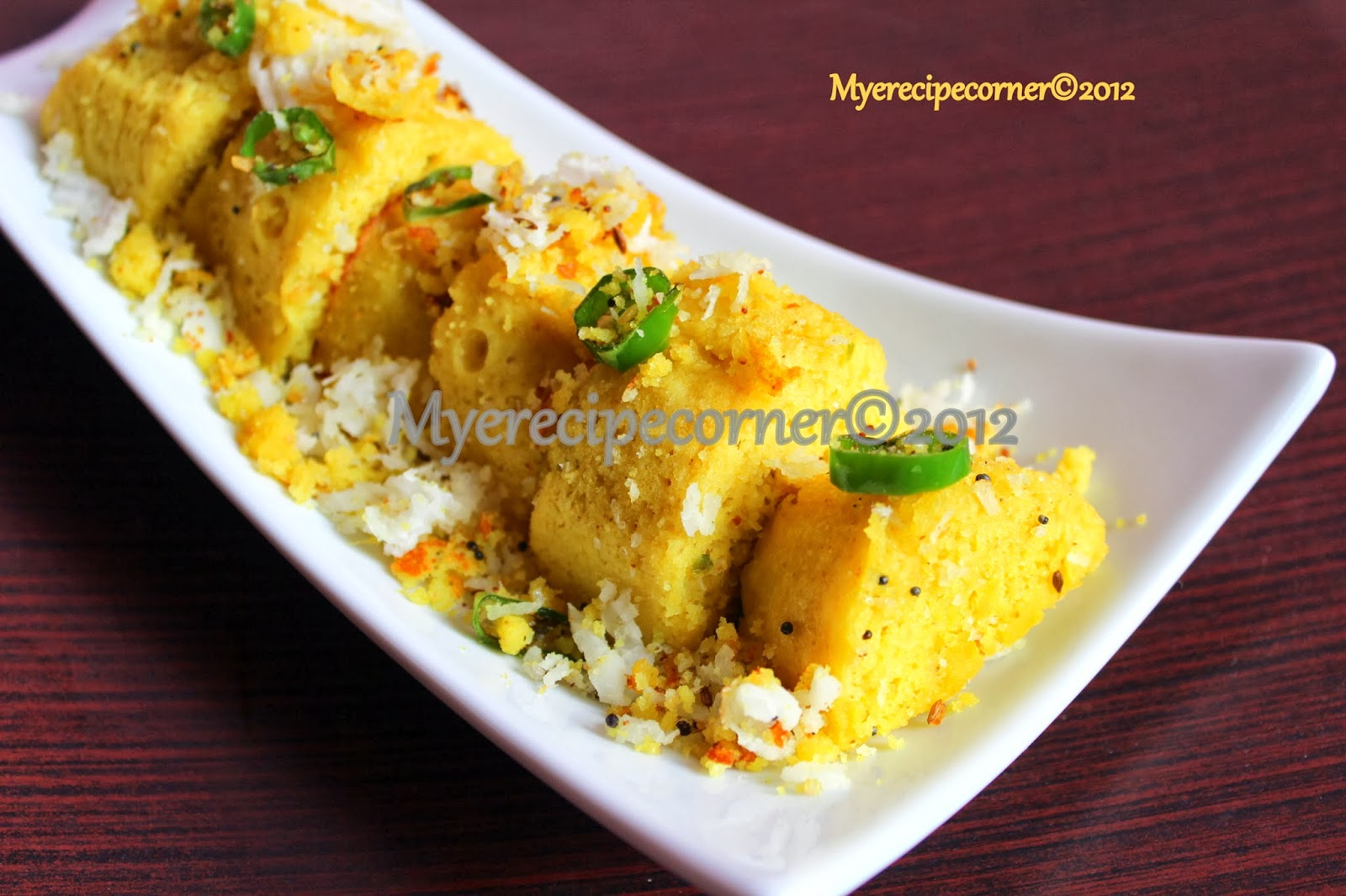 Myes kitchen khaman dhokla recipe a tribute to tarla dalal khaman dhokla recipe a tribute to tarla dalal forumfinder Image collections