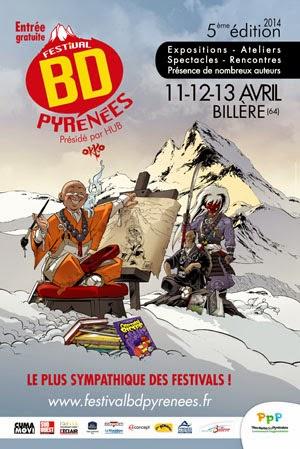 Festival BD Pyrénées, Billère - 12 et 13 avril 2014 (+ d'infos)