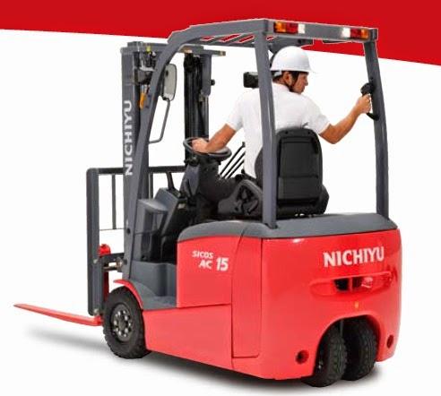 Nichiyu battery forklift 1.3 - 2.0 ton
