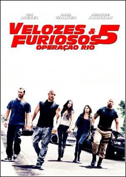 Velozes e Furiosos 5   Operação Rio DVD R Capa