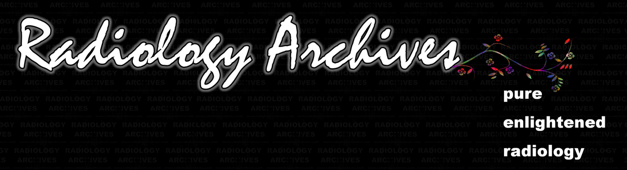 Radiology  Archives