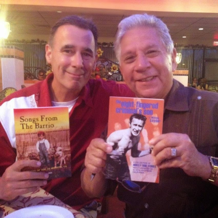 With Richard Rios, author of Songs from the Barrio