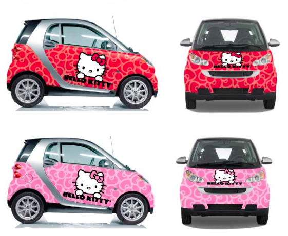 Foto Mobil Hello Kitty Lucu Terbaru Wallpaper Gambar Hello Kitty Car