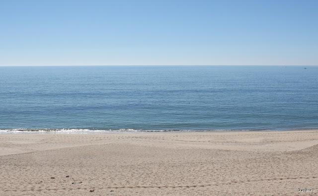 Plage à Half Moon Bay, Californie