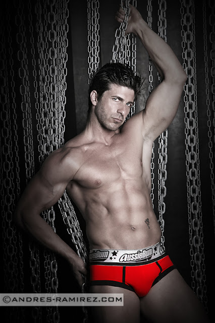 Sexy David Fillol by Andres Ramirez - Underwear by aussieBum