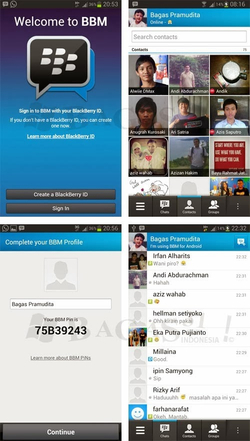 [Official APK File] BlackBerry Messenger for Android 2