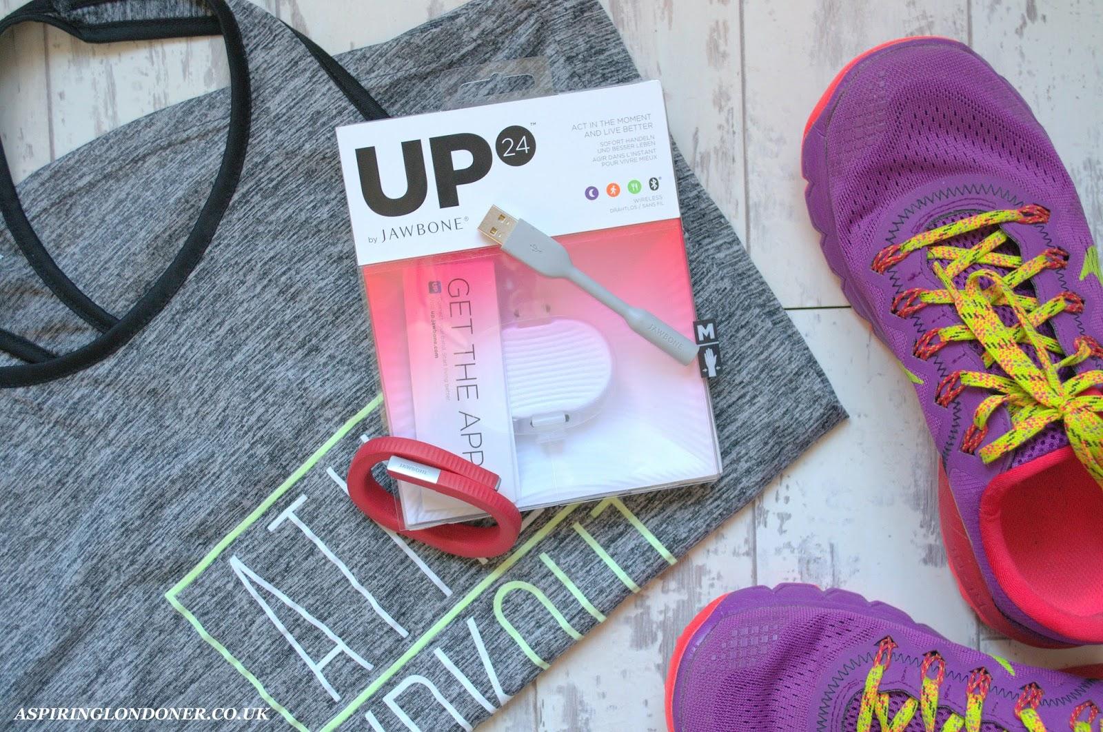 Jawbone UP24 Activity Tracker Review - Aspiring Londoner