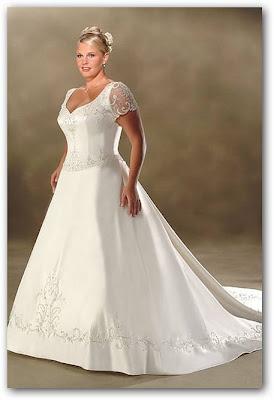 Vestido de novia con mangas de gasa