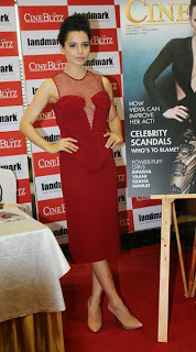 Kangna Ranaut Unveils Latest Issue of Cineblitz Photo Gallery