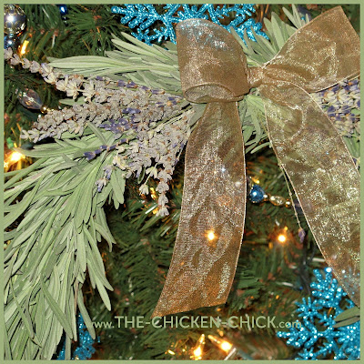 Lavender Wreath via The Chicken Chick®