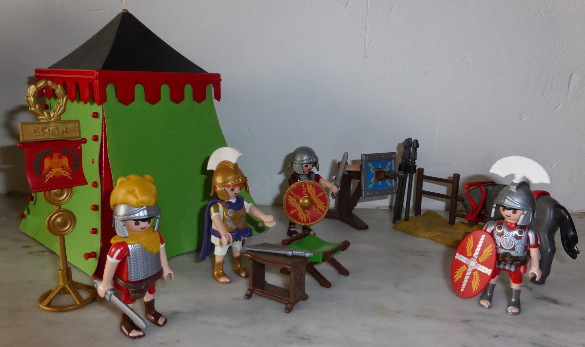 Playmobil Roman Camp