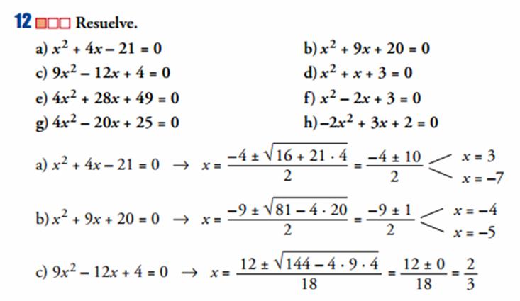 La superchuleta febrero 2014 for Ecuaciones de cuarto grado