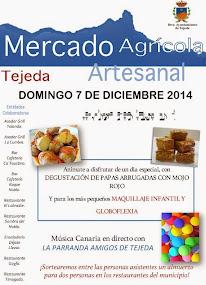 MERCADO AGRÍCOLA Y ARTESANAL DE TEJEDA