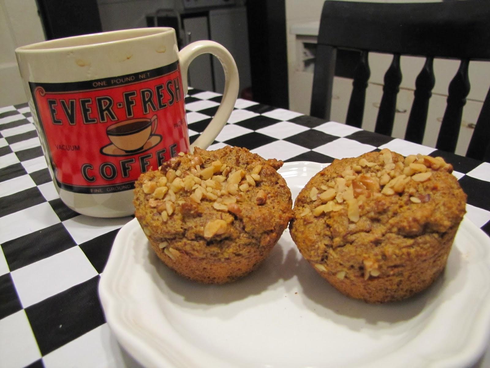 Pumpkin-Nut Muffins ~ Faithfulness Farm