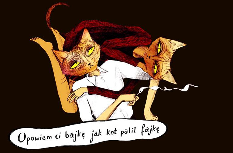 Opowiem Ci bajkę jak kot palił fajkę