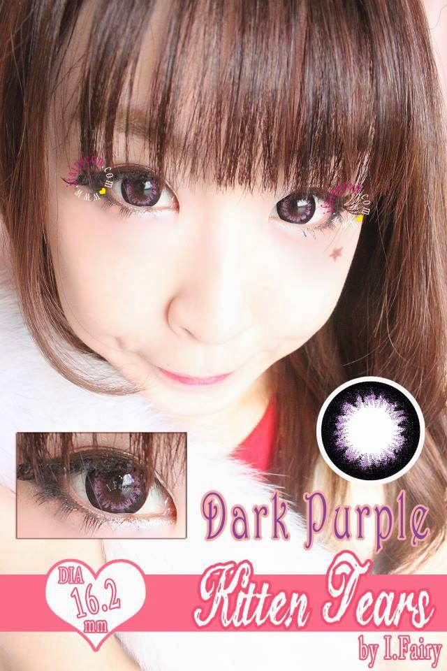 I.Fairy Kitten Tears Dark Purple review