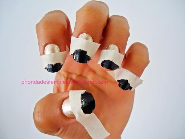 passo a passo nail art