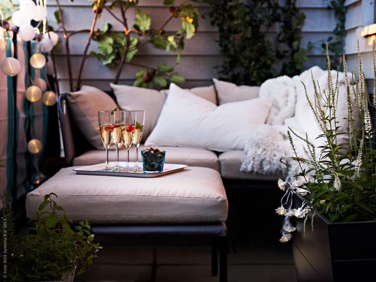 Outdoor terrazza Spaces idee : Kreativa Kvadrat AB: Utem?bler p? IKEA! - Veckans sidosp?r v 14