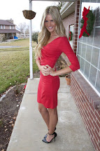 Red Dress - Barefoot Blonde Amber Fillerup Clark