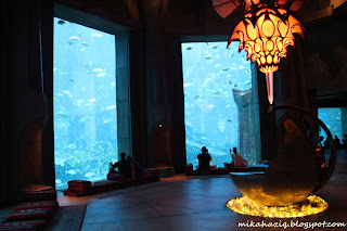 dubai atlantis aquarium reviews