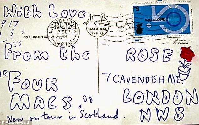 The Beatles Polska: Pamiątkowa pocztówka od McCartneya sprzedana na aukcji