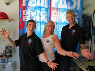PADI Assistant Instructors