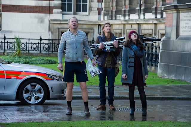 Thor The Dark World Dr. Erik Selvig Stellan Skarsgard Ian Boothby Jonathan Howard Darcy Lewis Kat Dennings