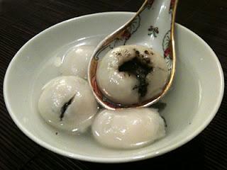 Cocina con ANíbal Tangyuan Sopa de bolas de sésamo